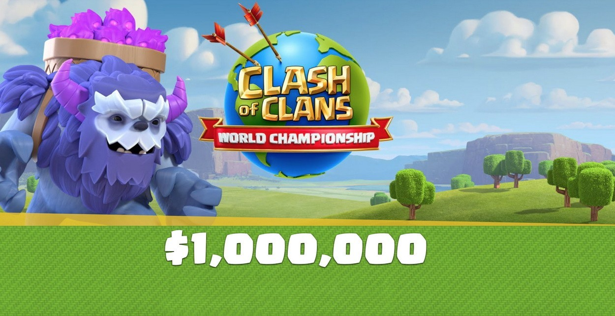 clash of clans чемпионат мира
