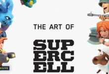 Art book supercell Книга суперселл